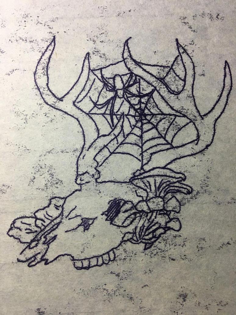 Deer_Skull_04 by Naharin