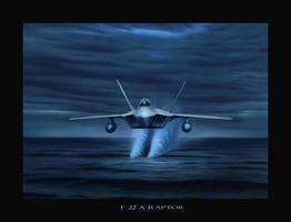 F-22 A Raptor by RainerKalwitz