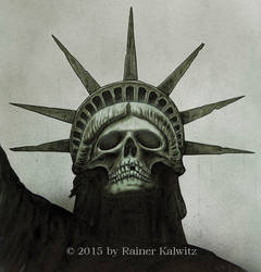Grim Liberty by RainerKalwitz