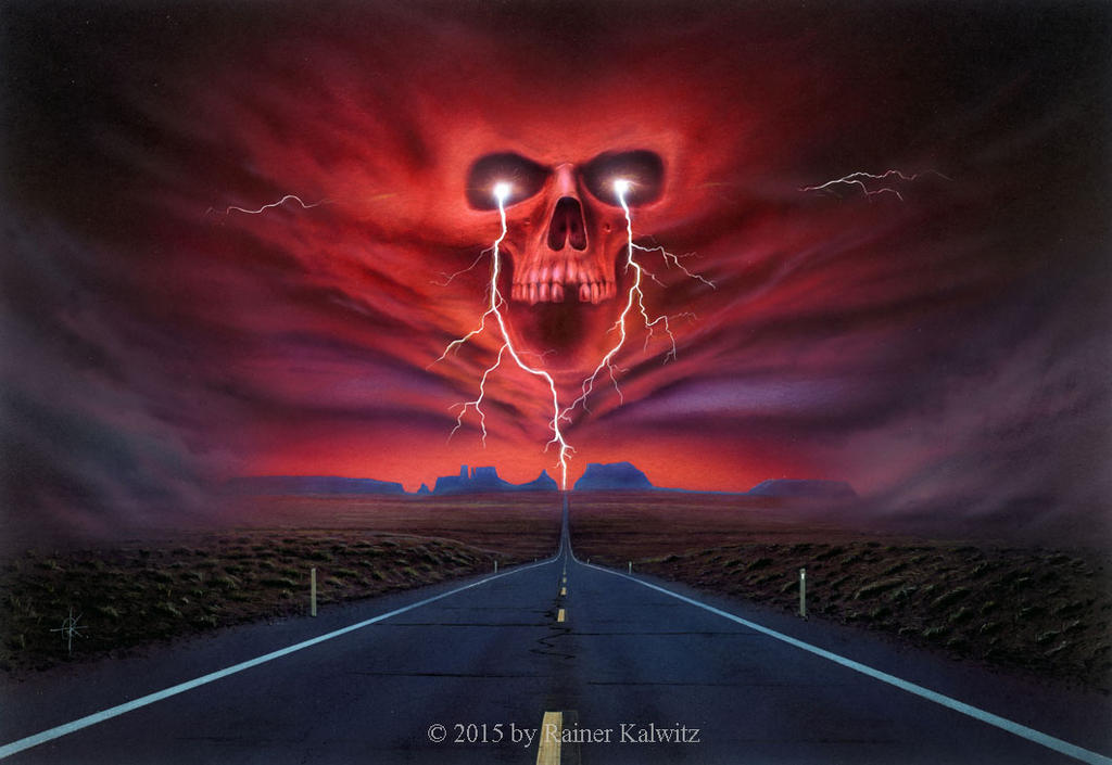 Road of Thunder by RainerKalwitz