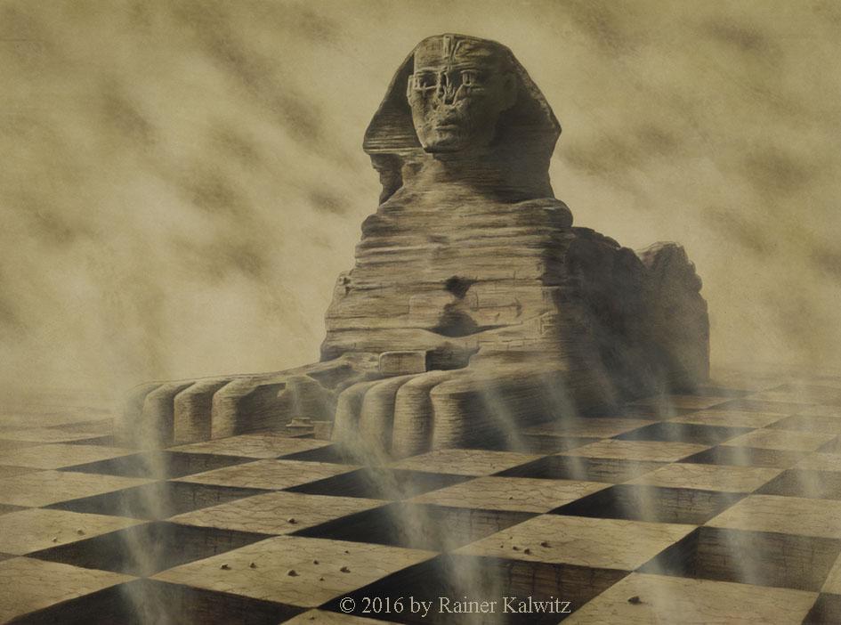 Sphinx (The Guardian) by RainerKalwitz