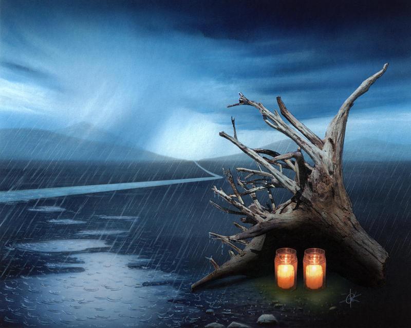 Rain by RainerKalwitz