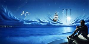 Sailing Beyond by RainerKalwitz