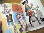 Sketchbook Pages 1 by calslayton