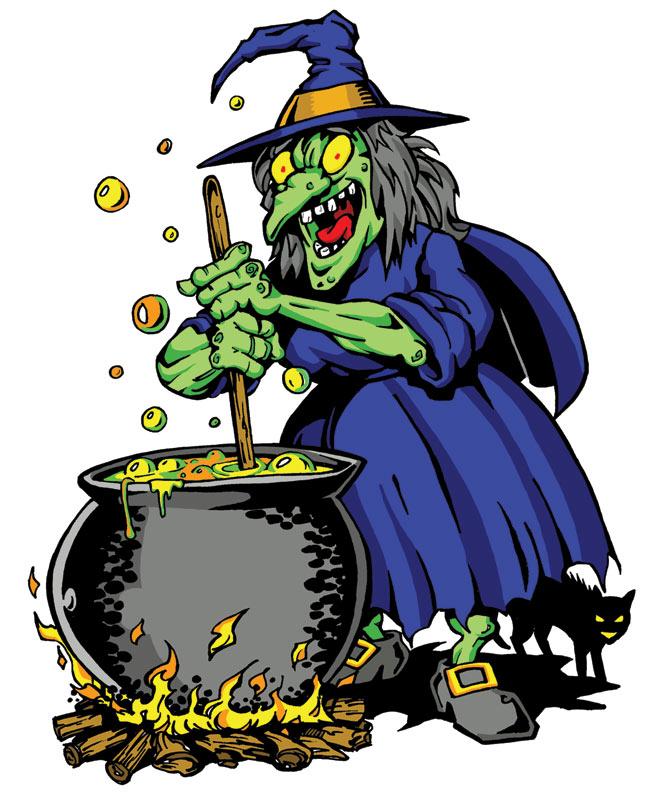 Cartoon Witch by calslayton on DeviantArt
