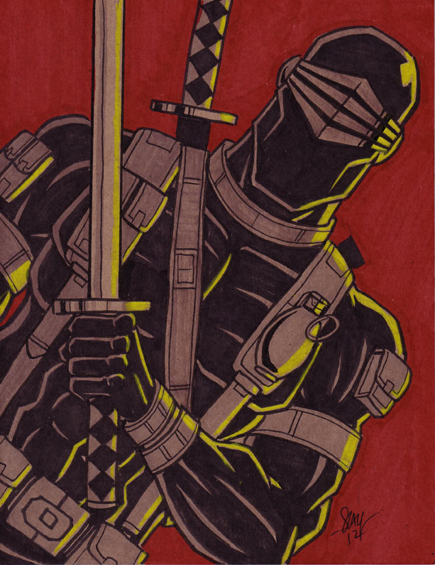 Snake Eyes by calslayton