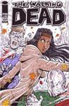 Michonne Walking Dead Sketch Cover
