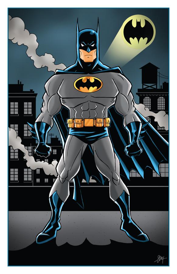 Batman Print by calslayton on DeviantArt
