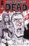 Walking Dead Michonne Sketch Cover