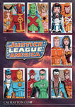 Justice League of America Sketch Card Commissions