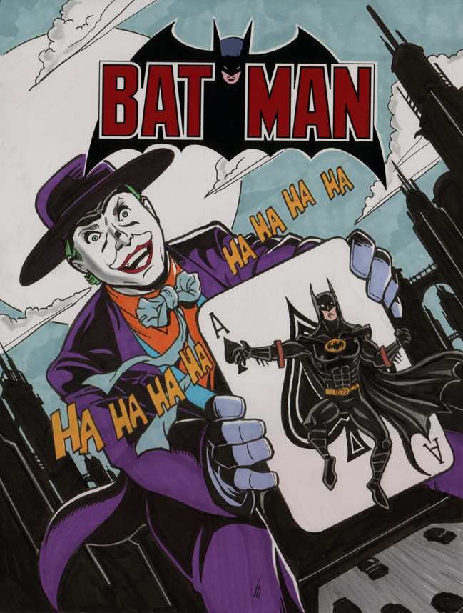 Batman 251 Cover Homage by calslayton