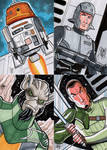 Star Wars Rebels Sketch Cards