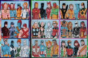 Marvel Bronze Age Commissions by calslayton