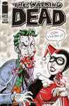 Walking Dead Sketch Cover - Joker and Harley Quinn