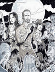 The Walking Dead - Grimes Family