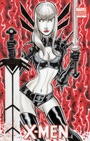 Magik Sketch Cover Commission by calslayton