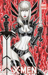 Magik Sketch Cover Commission