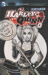 Harley Quinn Arkham City Scketch Cover