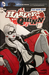 Harley Quinn - Sketch Cover by calslayton