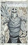 Shredder Sketch Cover by calslayton