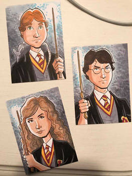 Harry Potter Sketch Cards