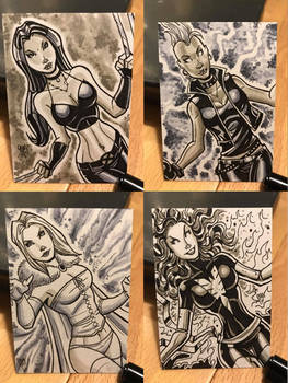 Charity Sketch Cards