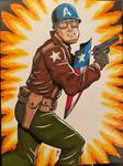 Captain America GI Joe Style