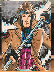 Gambit Sketch Card
