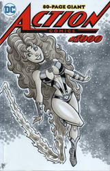 Starfire Sketch Cover