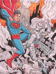 Superman vs Brainiac