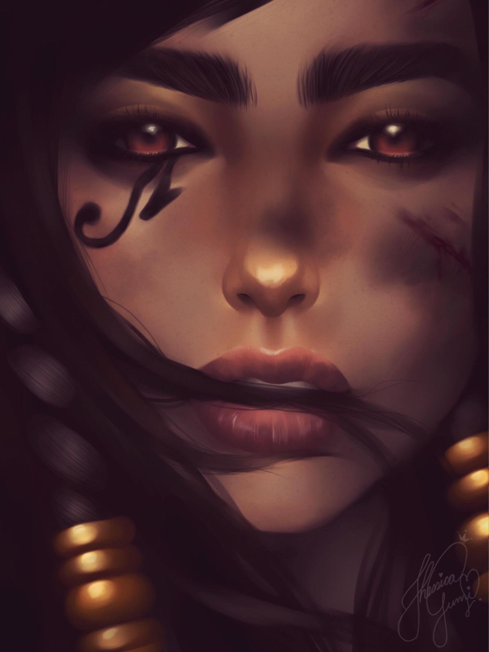The Beauty of War - Pharah by JhessyJay