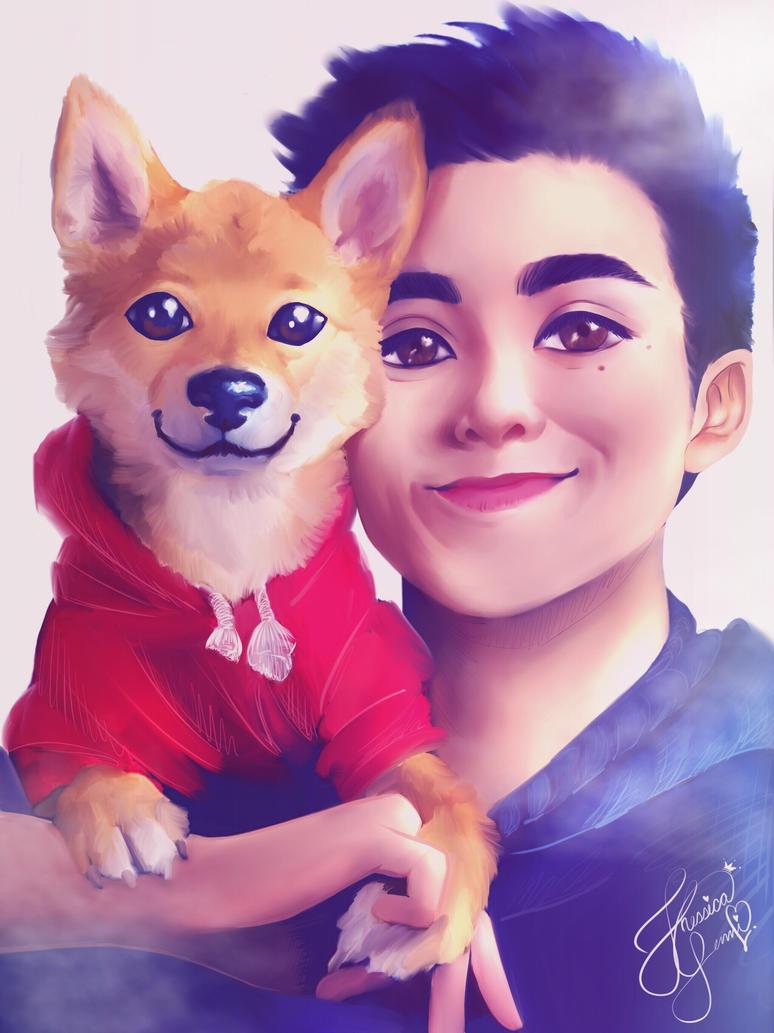 Ross Tran portrait by JhessyJay