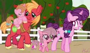 Sugar Mac Family (Big Mac x Sugar Belle)