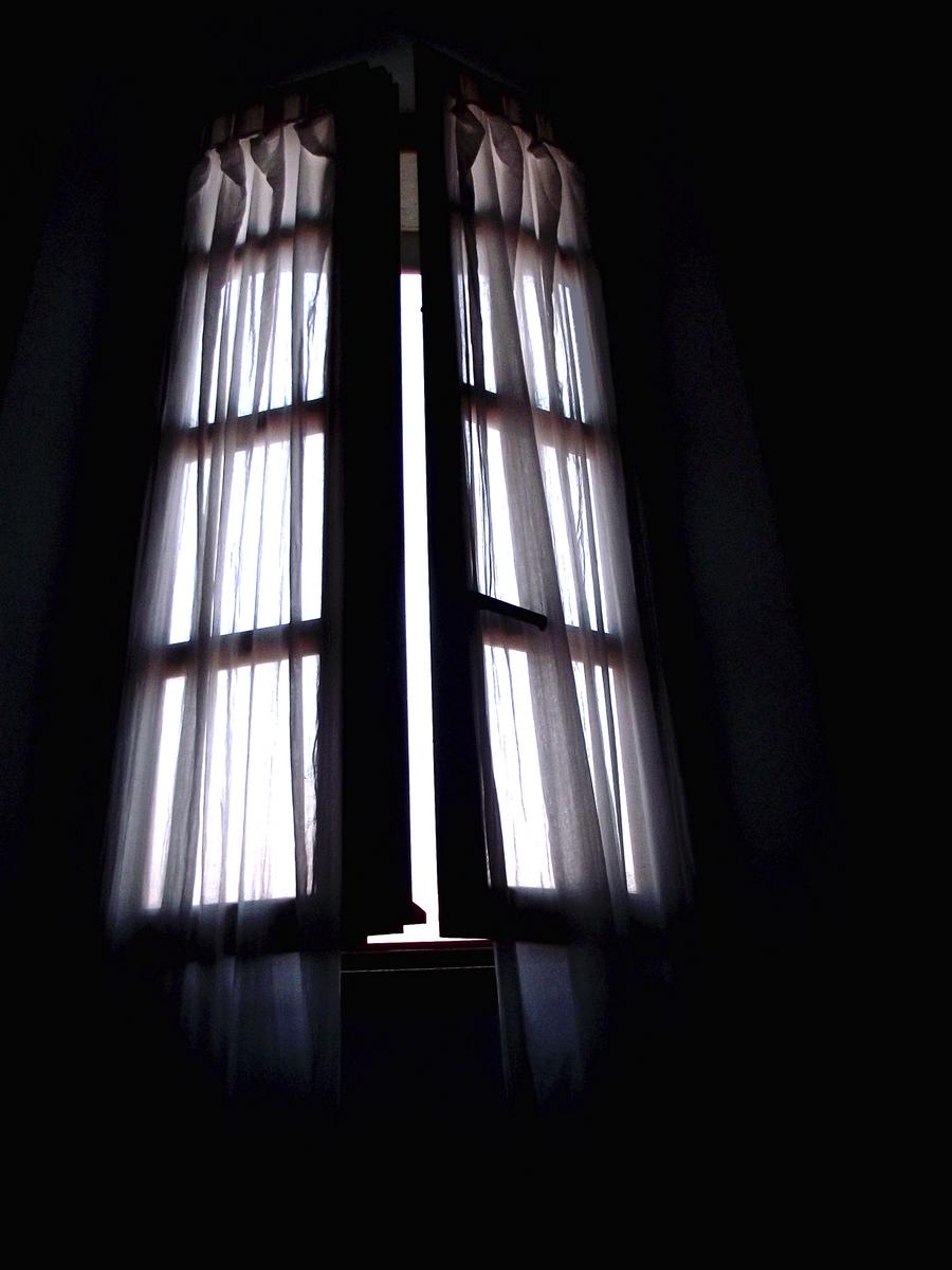 Open window at night -  Tallchaitealatte The Stars Blew The Window Open By Tallchaitealatte