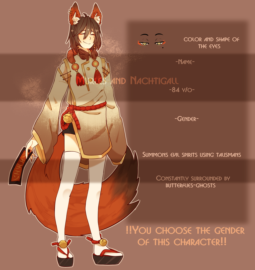 FOX ADOPTABLE (SOLD) by NachtigallSoSad