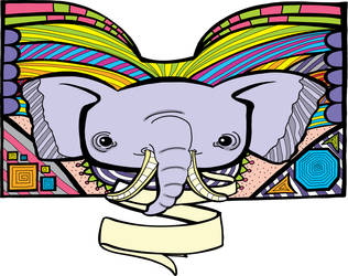 Bookish Elephant Digitized by katubish