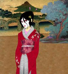 Geisha by Superherogirlcat by katubish