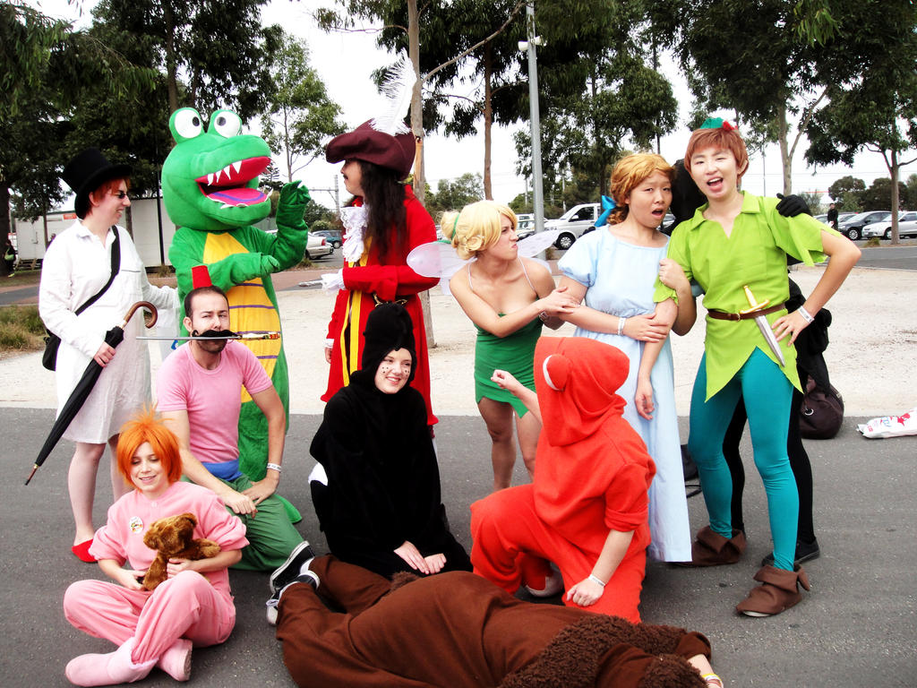Costume ideas for groups - Peter Pan