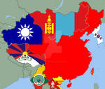 East Asia if China was a capitalist democracy