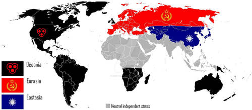 1984 World Map my version