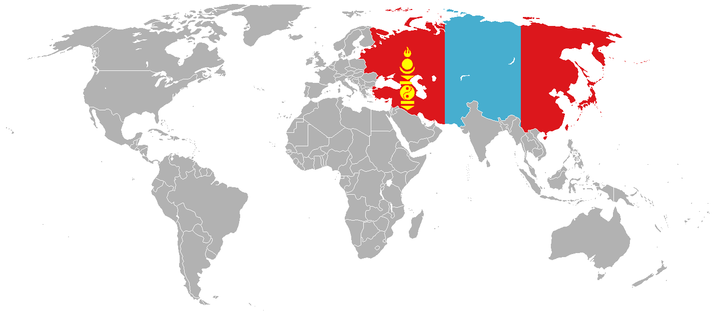 New mongol empire world map by saint tepes on deviantart new mongol empire world map by saint tepes publicscrutiny Gallery