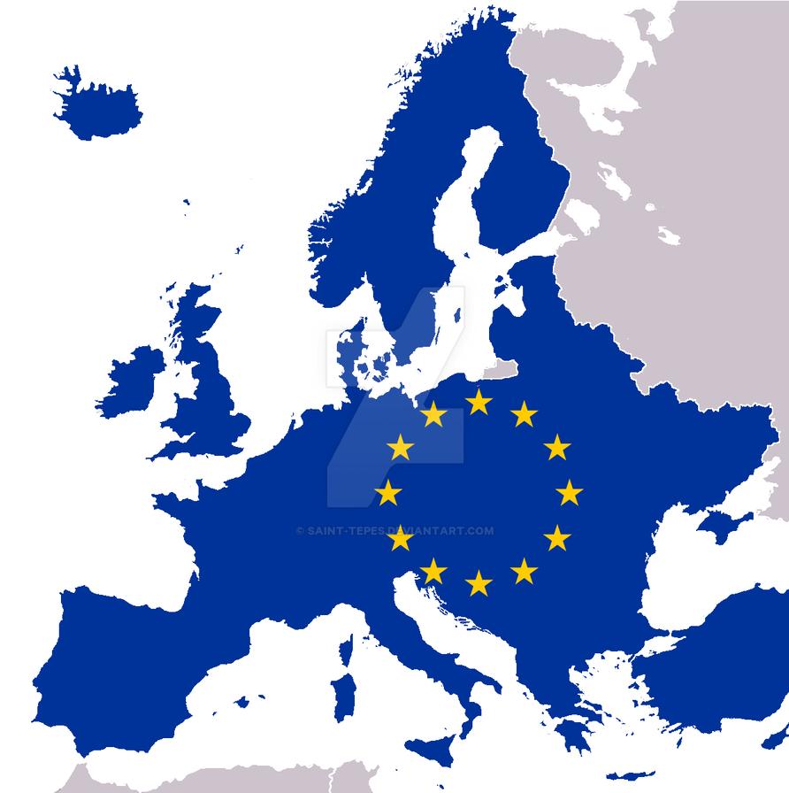 European Union map - greater union by Saint-Tepes on DeviantArt