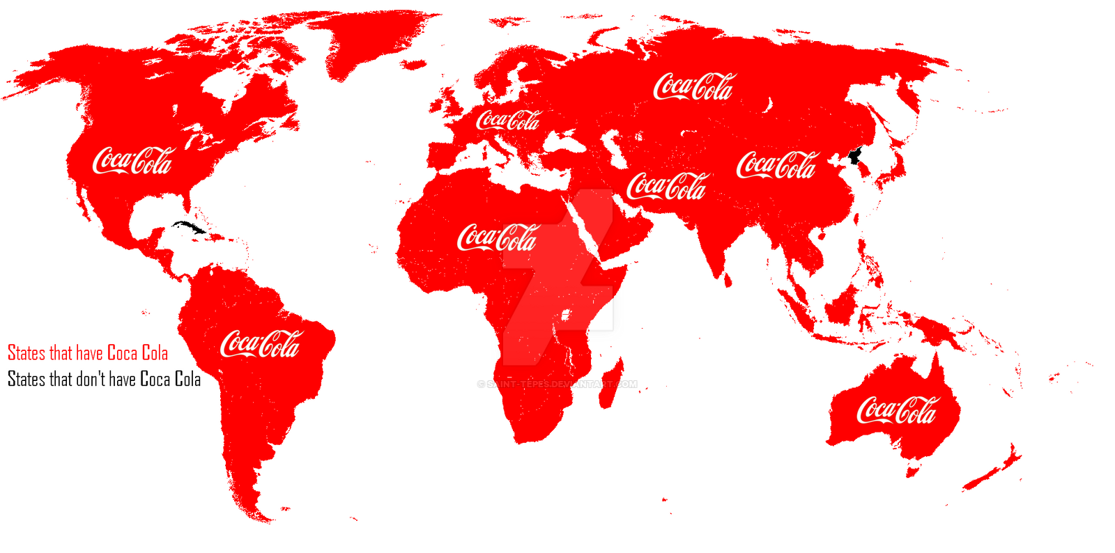 Coca Cola map availability by Saint-Tepes