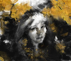 Golden freckles by internetontheblink43