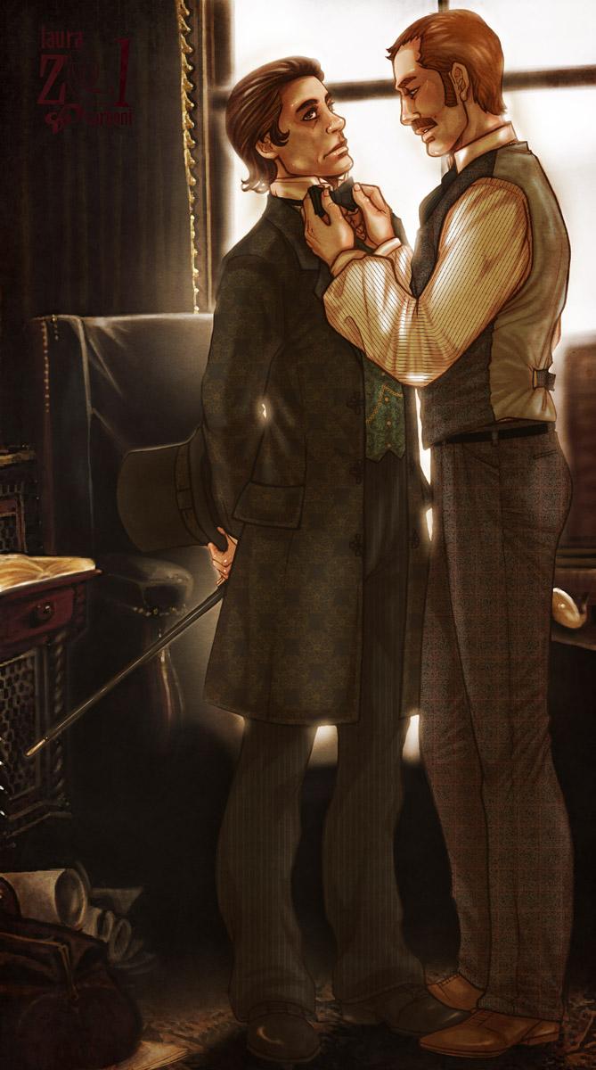 DateDateDate +SherlockHolmes+ by LauraZel