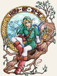 Link by LauraZel
