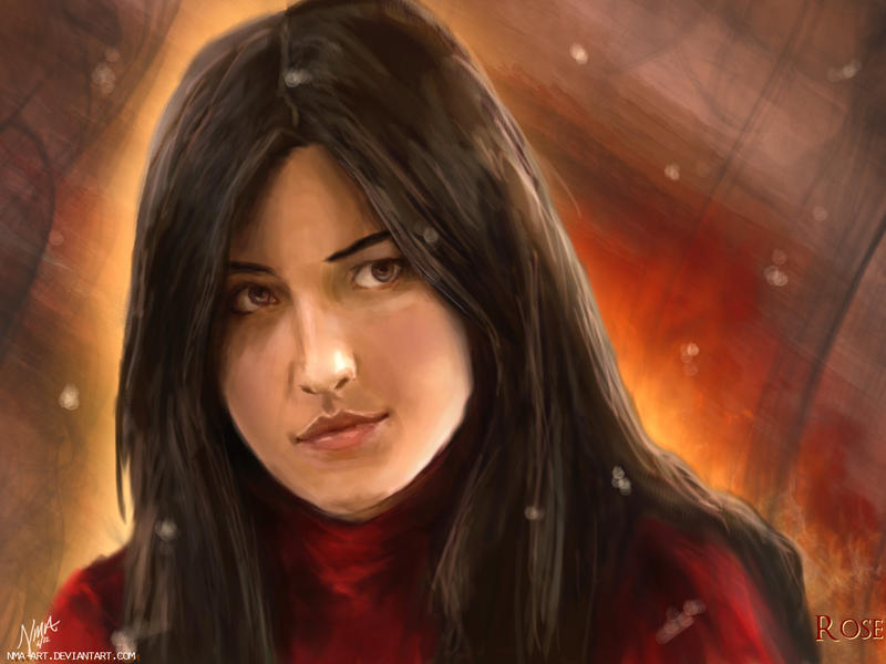 Rose Hathaway by nma-art
