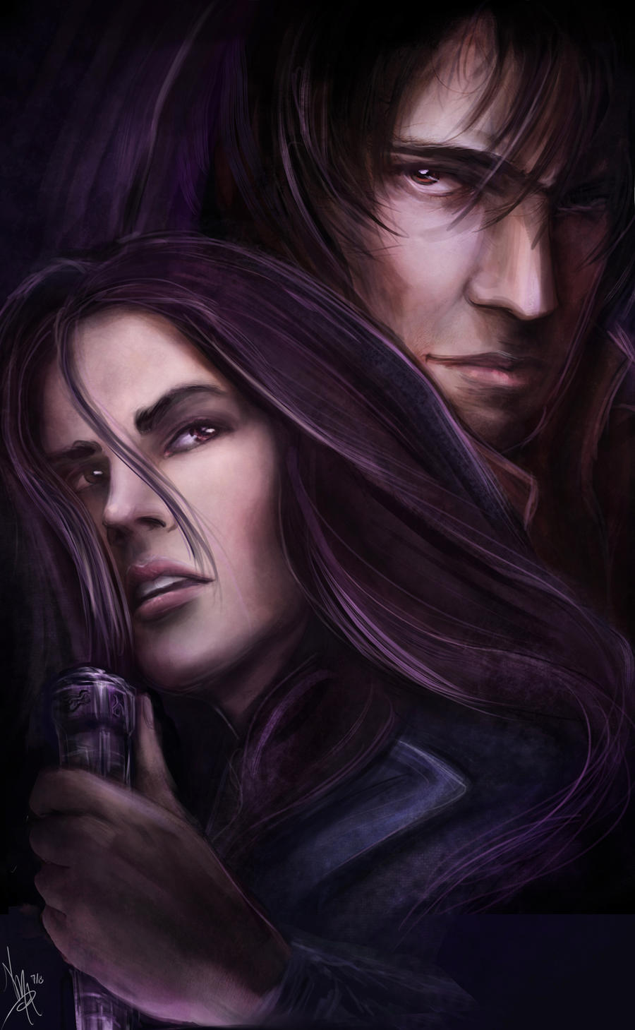 vampire academy rose and dimitri by nmaart on deviantart