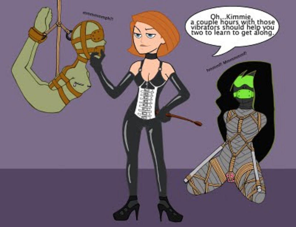Kim and Shego (2) by snople on DeviantArt