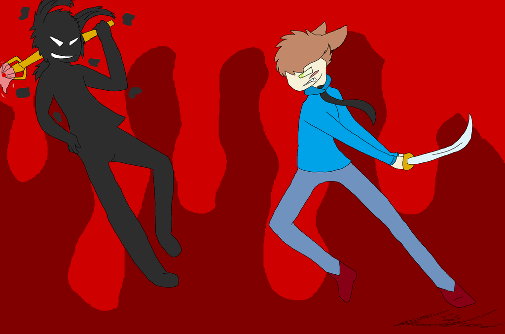 Final Showdown by KittyCreator